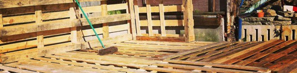 how to make pallet shed